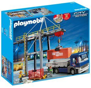 PLAYMOBIL 9540 Elektrischer Verladekran mit LKW