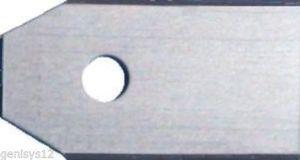 Messer kompatibel für Husqvarna Automower ® und Gardena Mähroboter Typ: BA1 (0,45mm) + Schraube