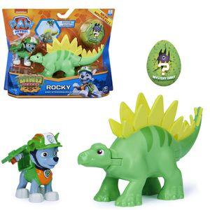 Dino Rescue Action Pack | Set mit Spielfigur und Dinosaurier | Paw Patrol, Figur:Rocky