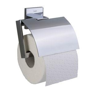 Tiger Items Toilettenpapierhalter mit Deckel Chrom, 281620346