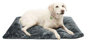 Hundedecke Hundekissen faltbar, 60x90 cm, dunkelgrau