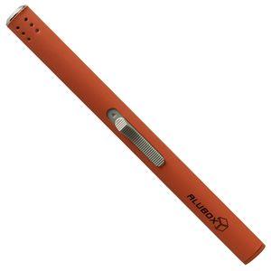 Feuerzeug Stabfeuerzeug nachfüllbar - orange ALUBOX