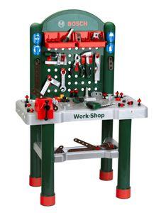 Bosch Mini Große Werkzeugbank Workshop für Kinder 8710