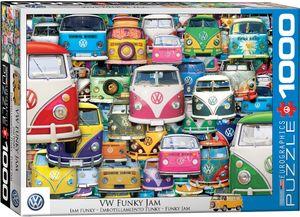 Volkswagen Bus Funky Jam - 1000 Teile Puzzle Format 68x48 cm