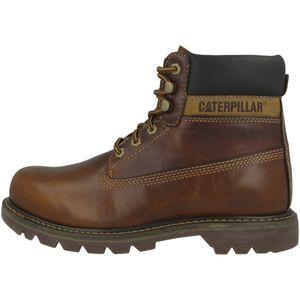 CATERPILLAR Coloardo Herren Stiefel Braun Schuhe, Größe:44