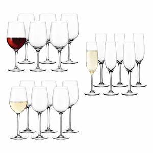 Leonardo CIAO+ Weinglas Sektglas 18er Set