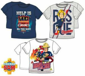 FeuerwehrmannSam T-Shirt 98 grau