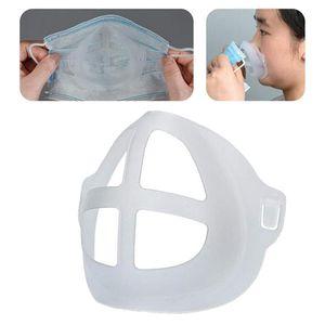 3D Halterung für Komfortable Maske Tragen, Silikon Maske Innere Unterstützung Rahmen, halten Stoff Off Mund zu Schaffen Mehr Atmen Raum,