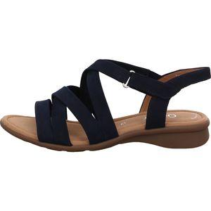Gabor Comfort Sandale Blau Größe 7, Farbe: 36 blue