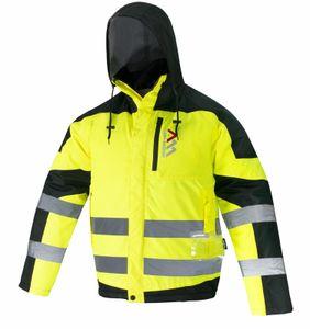 Arbeitskleidung ART.MaSter FLASH MEDIUM gelb Warnschutzjacke XL