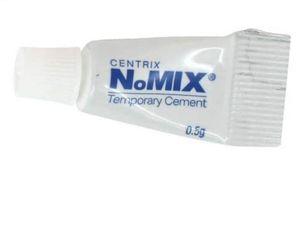 NOMIX provisorischer Zahnzement f.Kronen+Brücken Reparatur