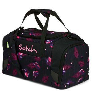 Satch Sporttasche, Mystic Nights, Farbe/Muster: purple, black, rose