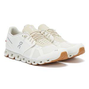 On Running The Cloud Weiss / Beige Herren Sneakers