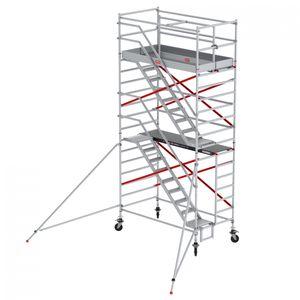 Altrex Treppengerüst RS Tower 53-S Aluminium Safe-Quick mit Holz-Plattform 6,20m AH 1,35x2,45m