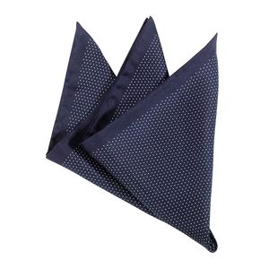 Olymp Einstecktuch dunkelblau feine Punkte , Einheitsgroesse:one size