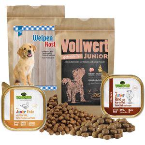 Schecker Trockenfutter Testpaket für Welpen Test the Best Hundefutter Trockenfutter 1,6 kg