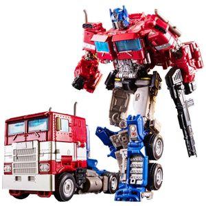 Transformers Optimus Prime Truck Transformation Spielzeug