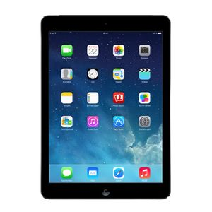 Apple iPad AirMD791FD/A 24,6 cm (9,7 Zoll) (IPS-Technologie (In-Plane-Switching), Retina-Display) 16 GB Tablet-PC - 4G - Apple A7 1,30 GHz Prozessor - Grau - iOS 7 - Multi-Touch 2048 x 1536 Display - Bluetooth - LED Hintergrundbeleuchtung - Slate