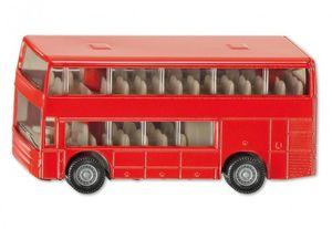 Siku Doppelstock Reisebus Modellbus rot; 1321