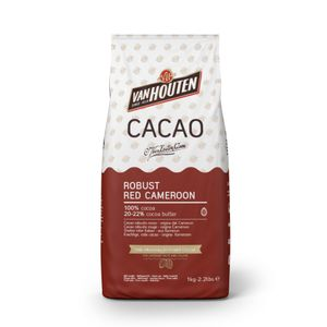 Robust Red Cameroon Kakao, Van Houten 1kg