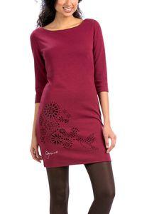 Desigual Damen Etui Kleid Partykleid VEST_AMARYLLIS, Größe:L, Farbzeichnung:Rottöne
