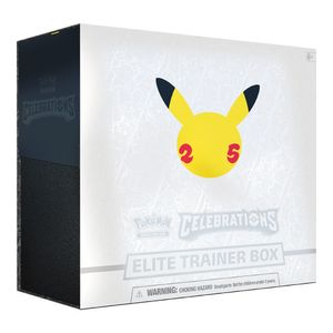 Pokemon 25th Anniversary Celebrations Elite Trainer Box englisch
