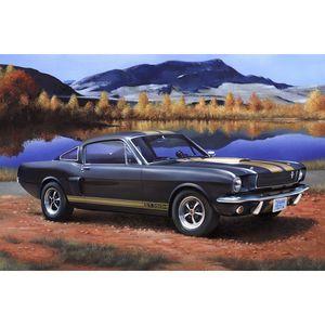 modellbausatz 1Shelby Mustang GT:24 schwarz 86-teilig