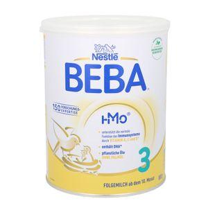 Nestlé BEBA 3, Säugling Milch, Babynahrung, Folgenahrung, Folgemilch, Ab dem 10. Monat, Dose, 800 g, 12465049