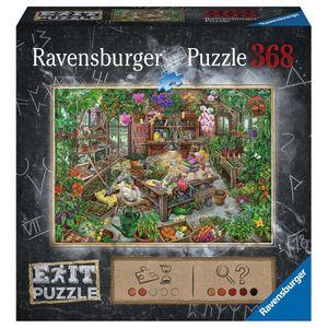 RAVENSBURGER EXIT Puzzle Im Gewächshaus Erwachsenenpuzzle Exit Room 368 Teile