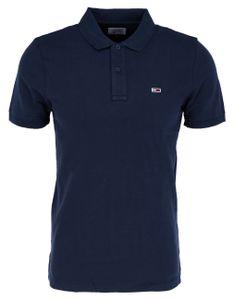 Tommy Jeans TJM CLASSICS SOLID STRETCH POLO Poloshirt Herren  twilight navy dunkelblau M