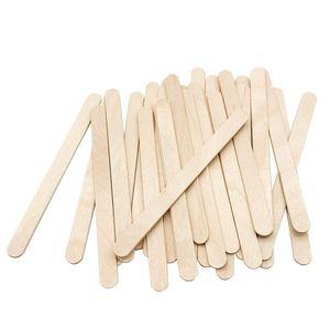 Eisstiele, 200 Stück Holzspatel Eisstiele Aus Holz Zum Basteln ideal für EIS am Stiel, Waxing und Basteln