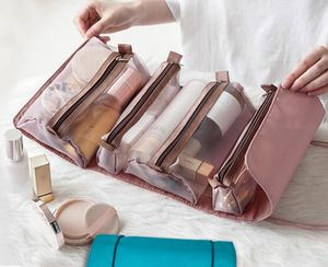 Kosmetiktasche Kulturbeutel Kosmetik Kultur Tasche Aufhängen Schminktasche, Rosa