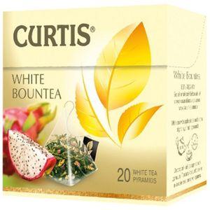 Curtis weißer weisser Tee White Bountea 20 Pyramidbeutel Pyramid Tea Weisstee