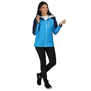 Regatta Softshelljacke Damen mit Kapuze Birchdale, Farbe:Blau, Damen Größen:46