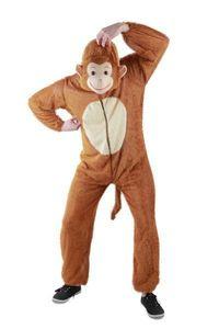 Affen Kostüm Tierkostüm   Gr. S, M, L, XL, XXL,XXXL, Größe:S