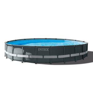 Intex 26334 610x122 Rund Aufstellpool aus Ultra Xtr RahmenGestalten: Round, Maße: 6 - 6,99 m, Filterpumpe: 26646
