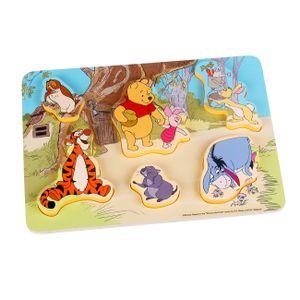 Disney Winnie Pooh & Freunde Steck Holz Puzzle Spielzeug