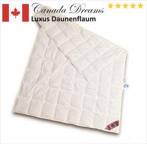 Canada Dreams Luxus Sommerdecke Daune Wärmegrad 1 220x240 zart warm