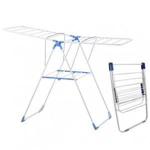 Ausziehbarer Wäscheständer Wäschetrockner Wäschehalter Wäscheaufhänger 1,7m