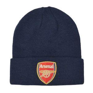 Arsenal FC Erwachsene Uni Wappen Strick Umschlagmütze SG17571 (Einheitsgröße) (Marineblau)