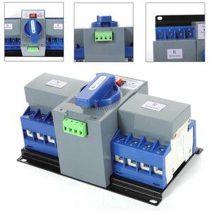 63A 4P Transferschalter Automatischer Umschalter Dual Netzteil Transfer Switch Leistungschalter Power Übertragungsschalter