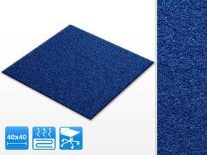 Teppichfliesen Scene | gut &  | selbstklebend | Farbe: Blau