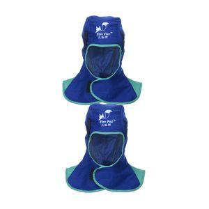 2 Stücke Schweißkappe Schweißermütze Kappe Kopfschutz Schweißhelm Schweißmaske
