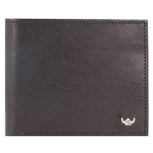 Golden Head Scheintasche Quer 2  Kreditkartenfächer RFID Colorado RFID Protect Leder Medium 9 x 11 x 1 cm (H/B/T) Herren Geldbörsen