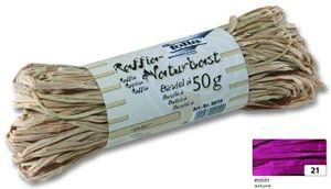 folia Raffia-Naturbast 50 g eosin
