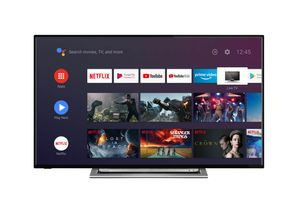 Toshiba 4K Ultra HD LED TV 126cm (50 Zoll) 50UA3A63DG Triple Tuner, Android Smart TV, HDR