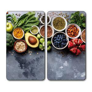 Kesper Kesper Multiglasschneidplatte Healthy Kitchen 3654313