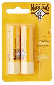 Le Petit Marseillais Lippenpflege mit Shea, Mandel und Argan 2 x 4,9 g aus Frankreich