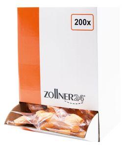200 Paar Gehörschutzstöpsel / Ohrstöpsel aus Polyurethanschaum, orange