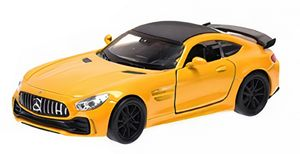 Welly massstabgetreues Modell Mercedes AMG Gtr 12 cm Stahl gold